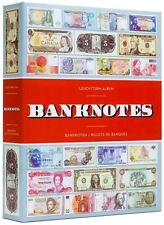 Banknotes Album Currency Collection Lighthouse Vario Paper Money Binder USA FREE