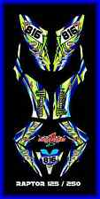 YAMAHA RAPTOR 250 125 SEMI CUSTOM GRAPHICS KIT MOTO