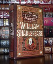 The Complete Works of William Shakespeare New Sealed Leatherbound Collectible Ed