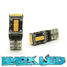 2x LED Standlicht 11 Watt W5W Orange Audi A4 B8 A6 A3 8P Q5 Q7 US Style