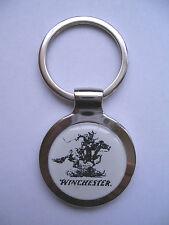 Winchester Key Chain, Winchester Gun Logo Keychain, Winchester Cowboy Logo