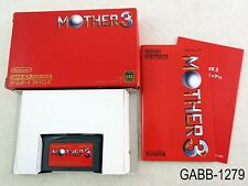 Complete Mother 3 Game Boy Advance Japanese Import GBA Boxed Japan US Seller B