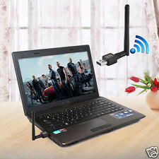 600 Mbps USB 802.11n WiFi Wireless Lan Network Card Adapter With Antenna 600M