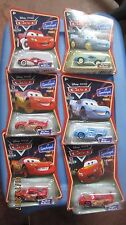 Disney Pixar Cars Supercharged Lot of 6 Cars  MCQUEEN CARS