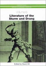 Literature of the Sturm und Drang (Camden House History of German Literature)
