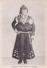 * BAGNOLI DEL TRIGNO - Provincia di Isernia - Costume, Donna