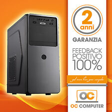 PC DESKTOP COMPUTER ASSEMBLATO INTEL CORE I3 4170/RAM 8GB/HD 1TB/WIFI/ FISSO