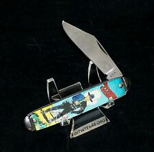 """Colonial Character Knife """"Hopalong Cassidy"""" Master Brand C-1970's USA Made Rare"""