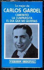 CARLOS GARDEL - Lo Mejor De - SPAIN CASSETTE Indalo 1979 - Caminito, Cumparsita