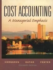 Cost Accounting and Student CD Package, 11th Edition