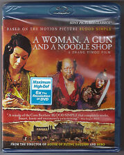 A Woman, a Gun and a Noodle Shop Blu-ray BRAND NEW