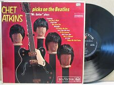 CHET ATKINS- Picks On The Beatles LP (1966 EX- UK) Best of Country Guitar Covers