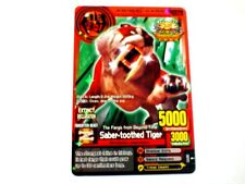 Animal Kaiser Evolution Evo Version Promo Card (A102EP: Saber-toothed Tiger)