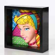 Disney by Romero Britto Prinzessin Cinderella Pop Art Block 18cm 4033869