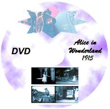 WIZARD OF OZ + Cinderella + ALICE IN WONDERLAND Silent Film DVD SET 1914