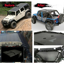Mesh Sunshade Hardtop for Jeep Wrangler JK 4 Door Sahara Sport Rubicon 07-16