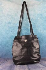 Italian Designer C & C Leather Satchel Handbag Backpack Rucksack Shoulder Bag