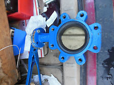 "ABZ 4"" butterfly valve 954-04  5/8"" handle"