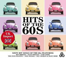 """CD  """" Hits of The 60s """"  (2014)  3 CDs"""