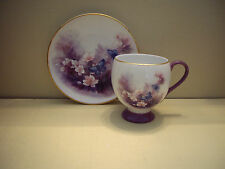 "Lena Liu Porcelain ""Blossoms and Butterflies"" Teleflora Gift Cup and Saucer Set"