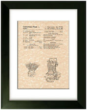 United States Patent Office Print Harley Davidson Evolution Engine Motorcycle