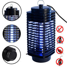 Electric Mosquito  Killer Fly Bug Zapper US 110V Lamp Wasp Black Pest LED