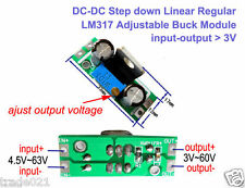 DC-DC 4.5~63v to 5v 9v 12v 24v 48v Buck Step-down Regulator Converter Mini Board