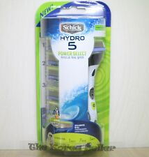 Original Schick Hydro 5 Power Select package (Razor +Blades+6 Refill Cartridges)
