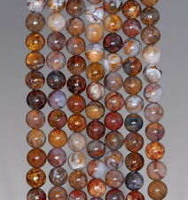 6MM AFRICAN PIETERSITE GEMSTONE GRADE AAA RARE ROUND 6MM LOOSE BEADS 15.5""