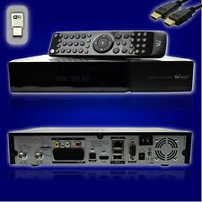 Vu+ Plus Solo2 Full HD 2 x DVB-S2 Receiver PVR ready + HDMI Kabel + 300Mbit WLAN