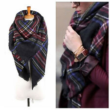 Fashion Winter Thick Warm Wool Pashmina Cashmere Stole Scarves Scarf Shawl Wrap