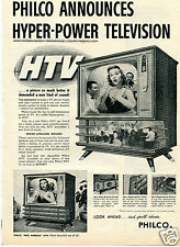 1957 Philco Miss America HTV Hyper Power Television