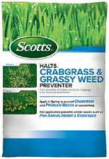 (1) SCOTTS HALTS CRABGRASS & AND GRASSY WEED PREVENTER PRE EMERGENT - 49900