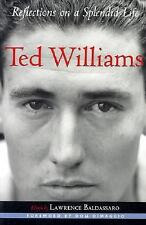Ted Williams: Reflections on a Splendid Life (Sportstown Series)-ExLibrary
