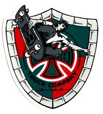 Independent Trucks - Lance Mountain Pool Skater Skateboard Sticker - skate sk8