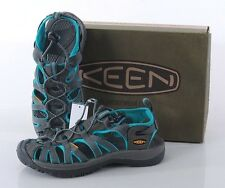 NIB Keen Whisper Women's 10 MED Sandals Water Shoes Hiking 1003717 Grey/Ceramic