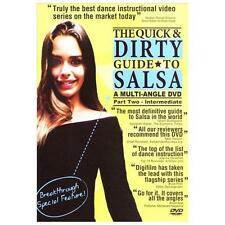 The Quick & Dirty Guide to Salsa - Part 2, Intermediate, Excellent DVD, Gigi, Pe