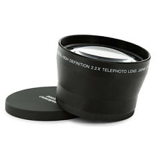 72mm (74mm) 2.2X Tele Telephoto Lens FOR SONY DSC-H50 DSC-H7 camera