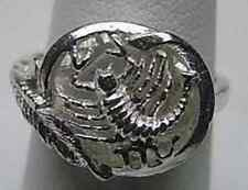 LOOK Scorpio Zodiac Astrology sign Jewelry ring Silver