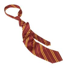 Wizarding World Of Harry Potter Gryffindor Striped Tie Uniform Cosplay Authentic