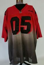 VTG. FUBU SPORT 05 CHAMPION  Edition Football RED Jersey Mens shirt XXXL