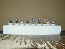 Carl Zeis Jena 1974 Subbuteo Top Spin Equipo