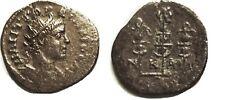 Ancient Rome ca AD 238-44 Gordian III Nikaia,Æ20, Radiate hd r/Aquila/standards