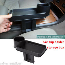 1× Auto Car Snack Tray Food Drink  Bottle Rack Cup Holder Mount Stand Organizer
