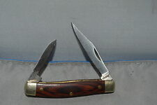RUKO 2 BLADE POCKET KNIFE VINTAGE ORIGINAL MODEL RUKO067 440A R.O.C. ON TANG