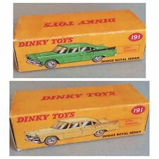 Dinky 191 Dodge Royal Sedan Empty Repro Box Only