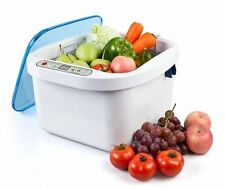 12.8L Home Use Ultrasonic Ozone Vegetable Fruit Sterilizer Cleaner Washer Health