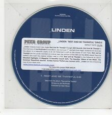 (GD979) Linden, Rest And Be Thankful - 2015 DJ CD