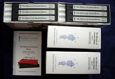 The HISTORY of ANCIENT ROME -Teaching Co-Great Courses VHS Tapes