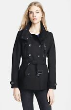 NWT Authentic Burberry Brit Wiltford Double Breasted Jacket, Women US 8